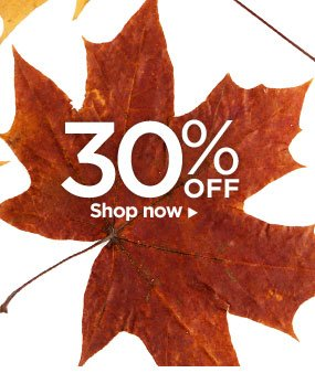 30% OFF – Shop now!