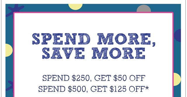 Save big this weekend!