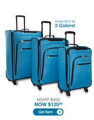 American Tourister POP 3 Piece Spinner Luggage Set