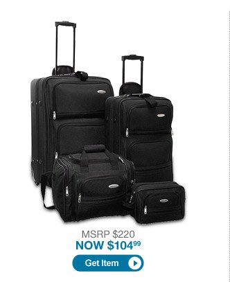Samsonite 4-Piece Travel Set