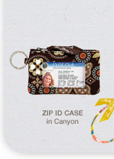 Zip ID Case in Canyon