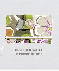 Turn Lock Wallet in Portobello Road