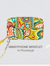 Smartphone Wristlet in Provencal