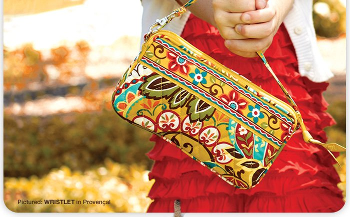 Wristlet in Provencal