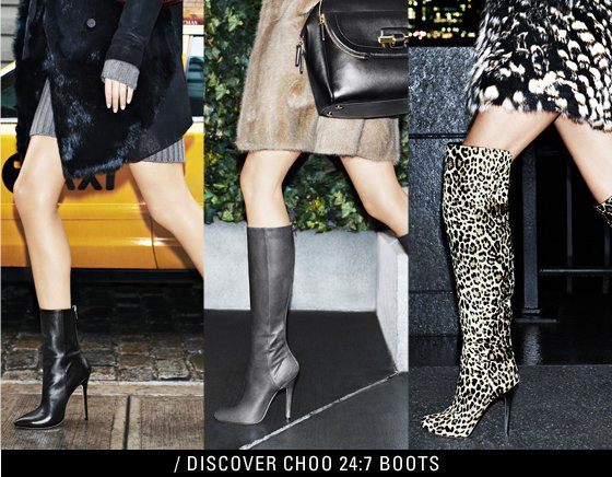 DISCOVER CHOO 24:7 BOOTS