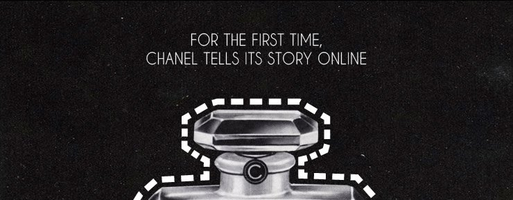 For the first time, CHANEL tells its story online