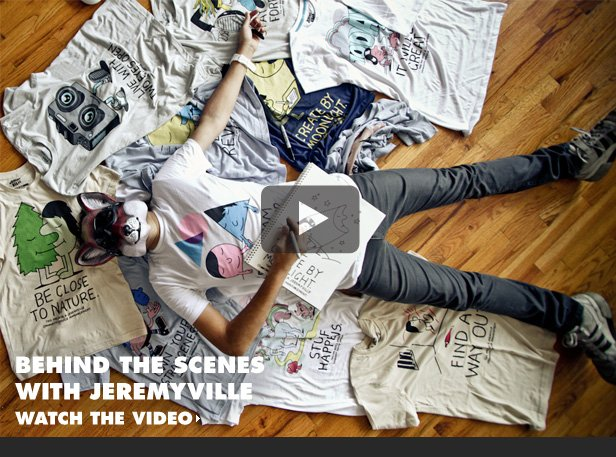 Behind the scenes with Jeremyville. Watch the video.