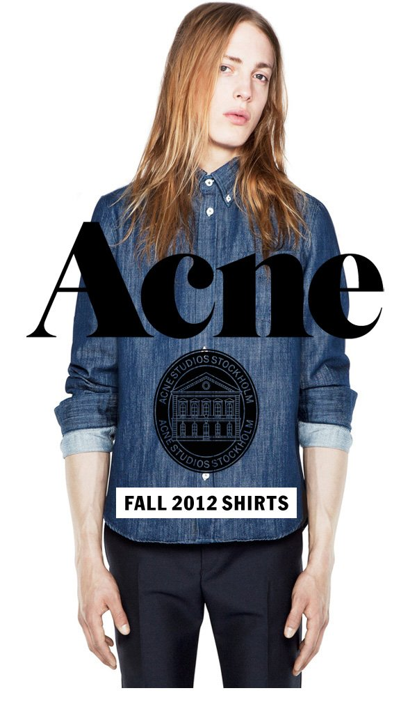 Acne Studios Fall 2012 Shirts