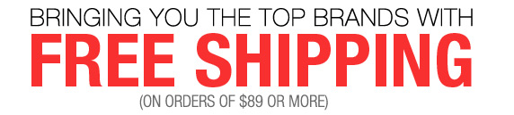 Bringing You The Top Brands with Free Shipping