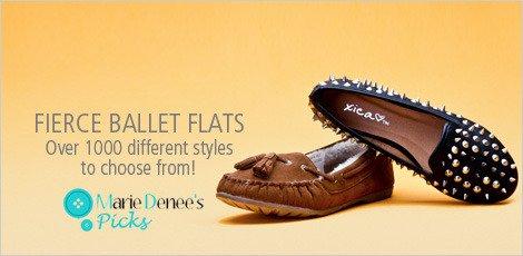 FIERCE BALLET FLATS