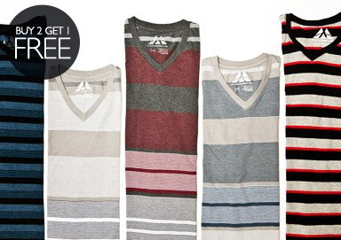 Shop The Basics: V-Neck Shop