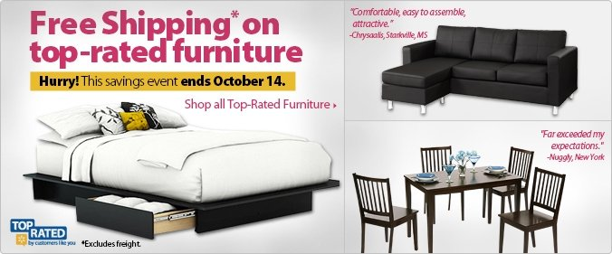 Shop all Top-Rated Furniture