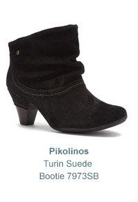 Women's Pikolinos Turin Suede Bootie 7973SB