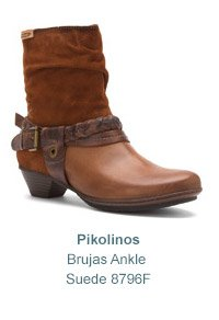 Women's Pikolinos Brujas Ankle Suede 8796F