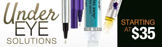 Under Eye Solutions starting at $35