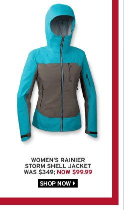 Rainier Storm Shell Jacket