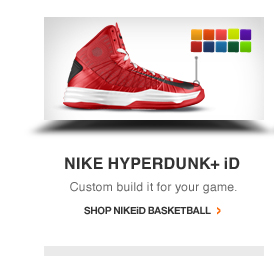 NIKE HYPERDUNK+ iD. Custom build it for your game. | SHOP NIKEiD BASKETBALL