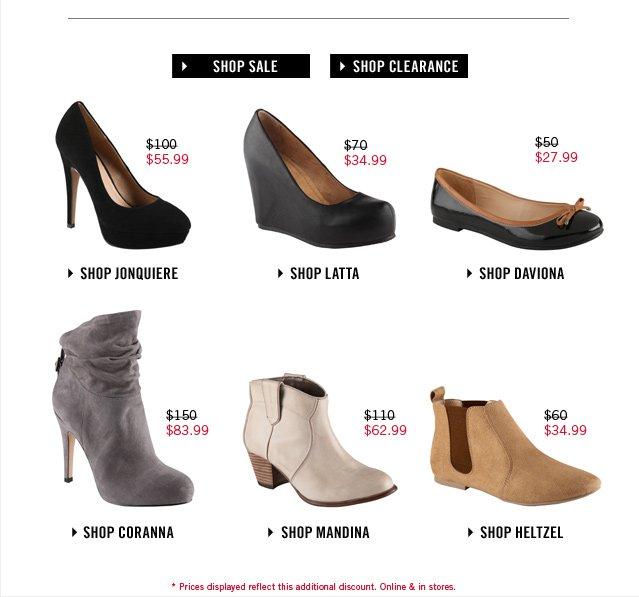 MID-SEASON SALE! SHOP AT www.aldoshoes.com/us