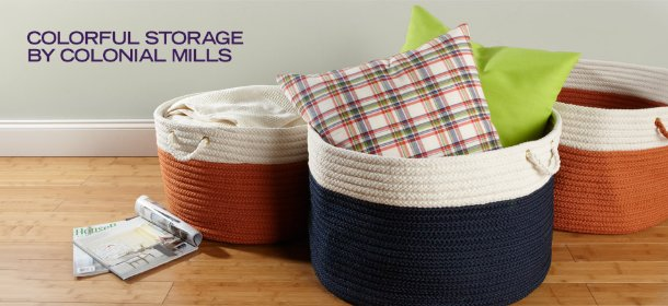 COLORFUL STORAGE BY COLONIAL MILLS, Event Ends October 10, 9:00 AM PT >