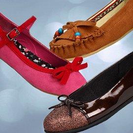 Fancy Footwork: Girls' Shoes
