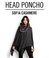 Head Poncho. Sofia Cashmere.