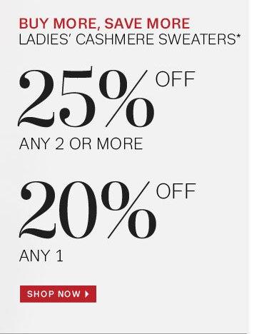 Shop Cashmere Now