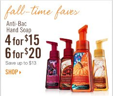 Anti-Bac Hand Soap - 4 for $15 or 6 for 20