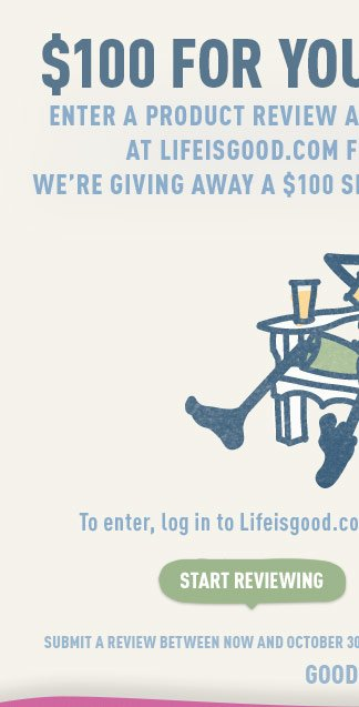 We're Giving Away a $100 Shopping Spree Every Month