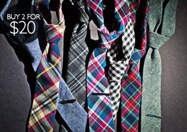 Shop Ties + Tie Bars