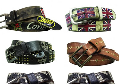 Shop Leather Island Belts: Rock and Roll