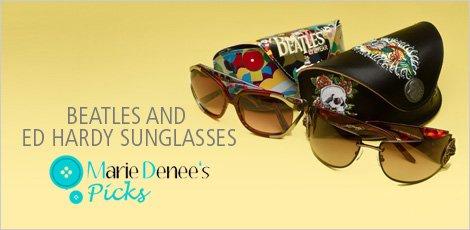 Beatles and Ed Hardy Sunglasses