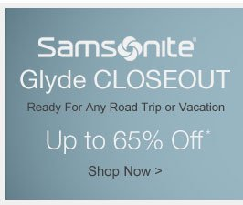 Samsonite Glyde Closeout - Shop Now >