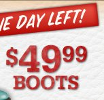 Special Price-$49.99 Boots