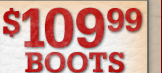 $109.99 Boots-25% Off