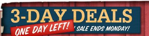 3-Day Deals