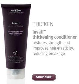 thicken. invati thickening conditioner. shop now