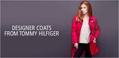 Designer Coats from Tommy Hilfiger