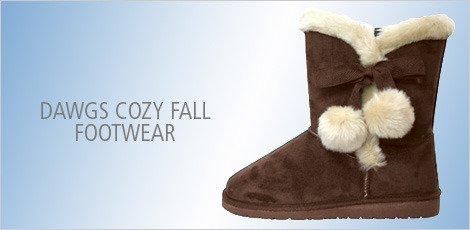 Dawgs Cozy Fall Footwear