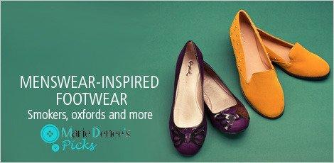 Menswear-Inspired Footwear