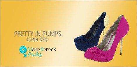 pretty in pumps
