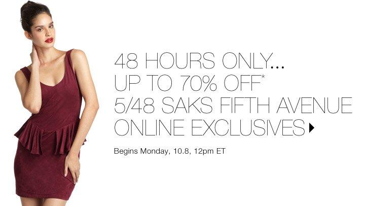 50% Off* 5/48...Shop now