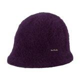 Paul Smith Hats - Damson Angora Cloche Hat