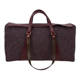 Paul Smith Handbags - Damson Harris Tweed Carpentry Bag