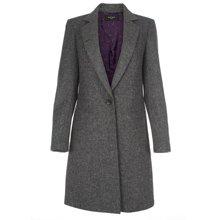 Paul Smith Coats - Grey Tweed Epsom Coat
