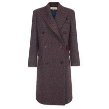 Paul Smith Coats - Double Breasted Harris Tweed Overcoat