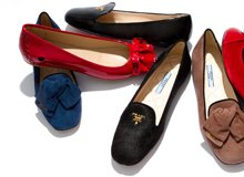 Luxe Comfort Statement Flats & Smoking Slippers