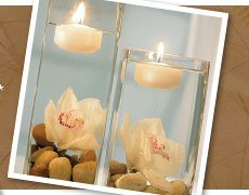 Neutral Floating Candles