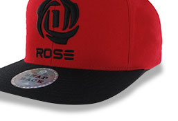 d rose Snapback Cap