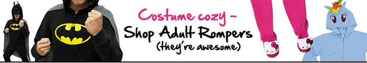 Costume cozy - shop adult rompers!