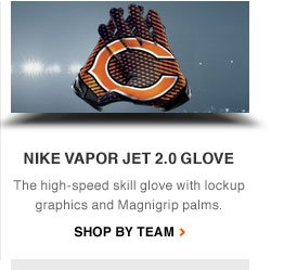 NIKE VAPOR JET 2.0 GLOVE | The high-speed skill glove with lockup graphics and Magnigrip palms. | Shop by team